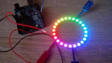 LED microcontroller project